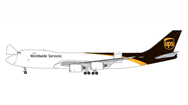 1:400 UPS Airlines B747-8F  ...