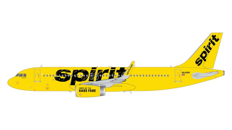 1:200 Spirit Airlines A320  ...
