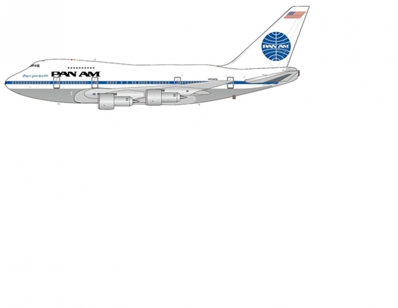 1:400 Pan Am B747SP (Pre Or ...