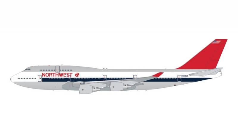 1:200 Northwest Airlines 74 ...
