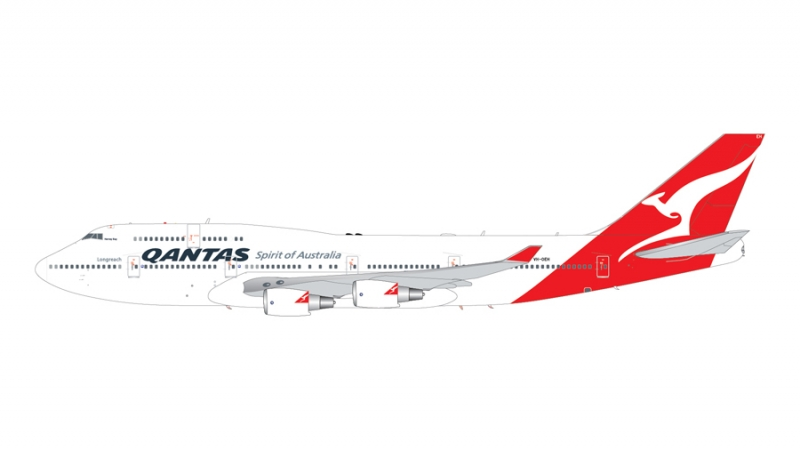 1:200 Qantas Airways 747-40 ...