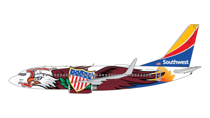 1:400 Southwest Airlines 737-700