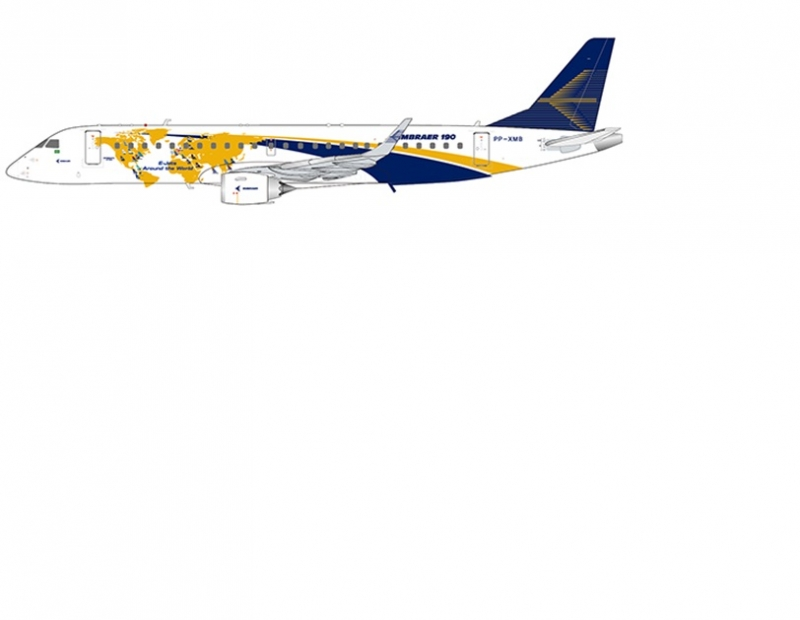 1:200 House Colour Embraer  ...