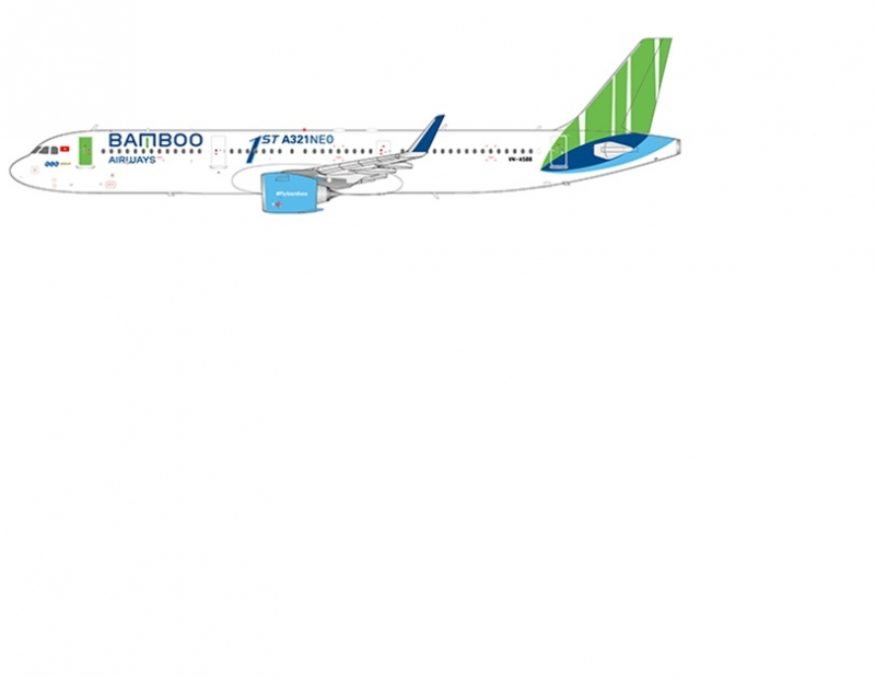 1:200 Bamboo Airways A321ne ...
