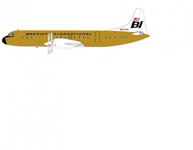 1:200 Braniff International ...