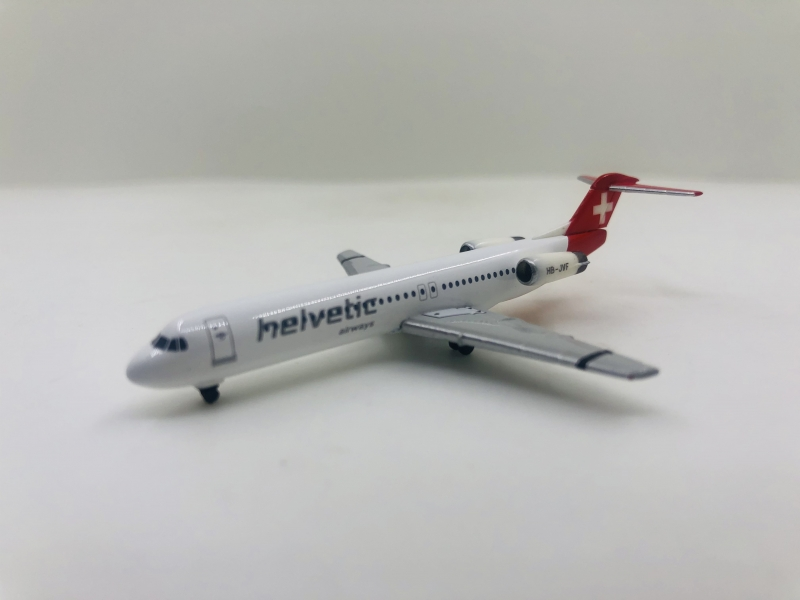 1:500 Helvetic Airways Fokk ...