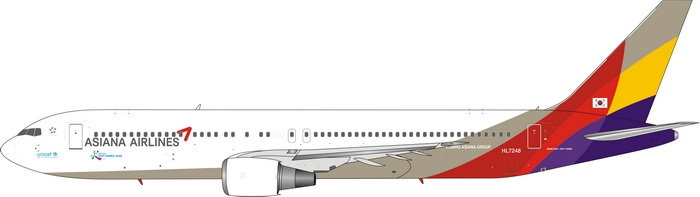 1:400 Asiana Airlines B767- ...