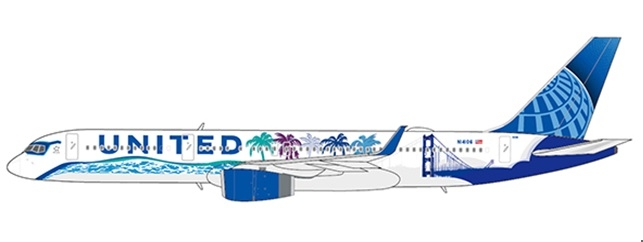 1:200 United Airlines B757- ...
