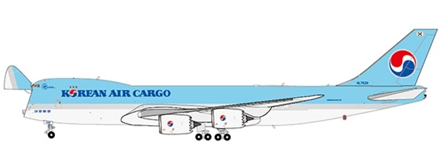 1:400 Korean Air B747-8F (  ...