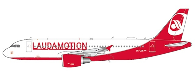1:400 Lauda Motion A320 (Pre Order Now - New Release Coming Soon)