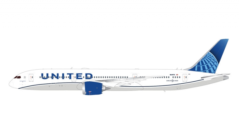 1:200 United Airlines 787-9