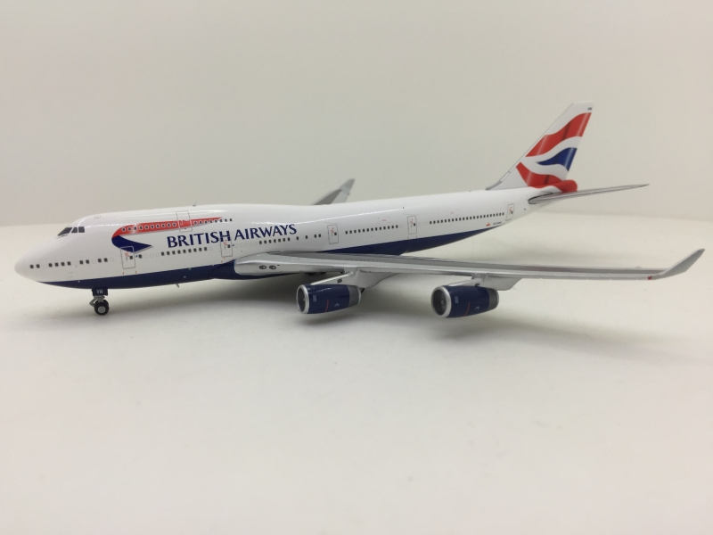 1:400 British Airways 747-4 ...