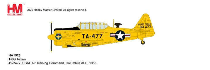 1:72 USAF Air T-6G Texan (P ...