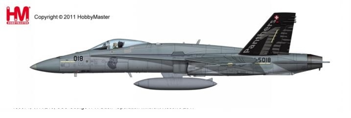 1:72 Swiss Air Force F/A-18 ...
