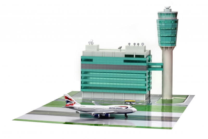 Mini Airport 1:400 Hong Kon ...
