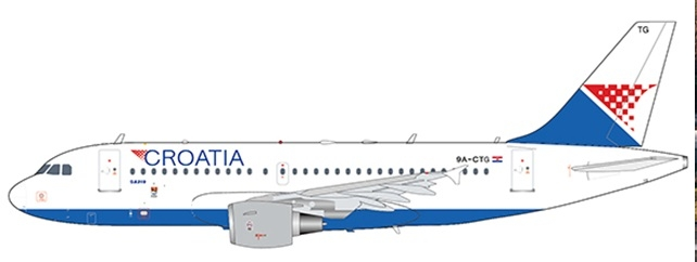 1:200 Croatia Airlines A319
