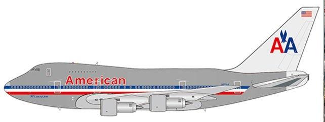 1:400 American Airlines B74 ...