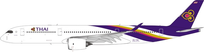 1:400 Thai Airways A350-900 (See Remark for the Reg. No.)