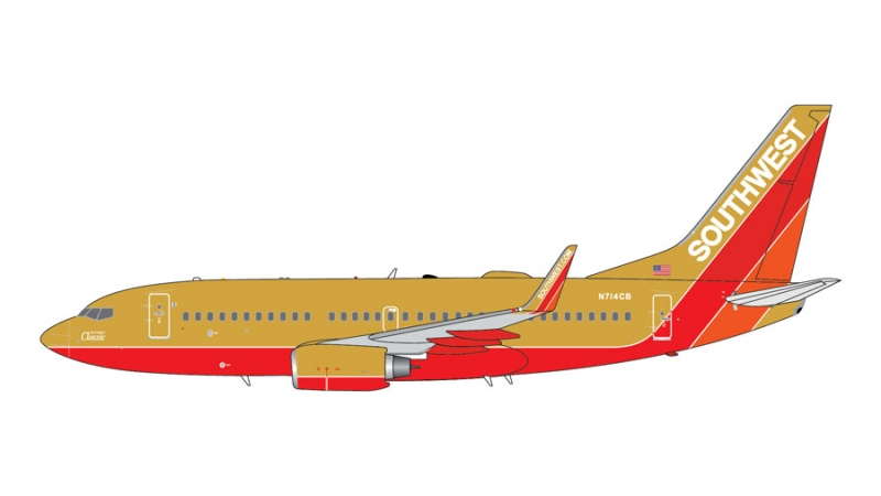 1:400 Southwest Airlines 73 ...
