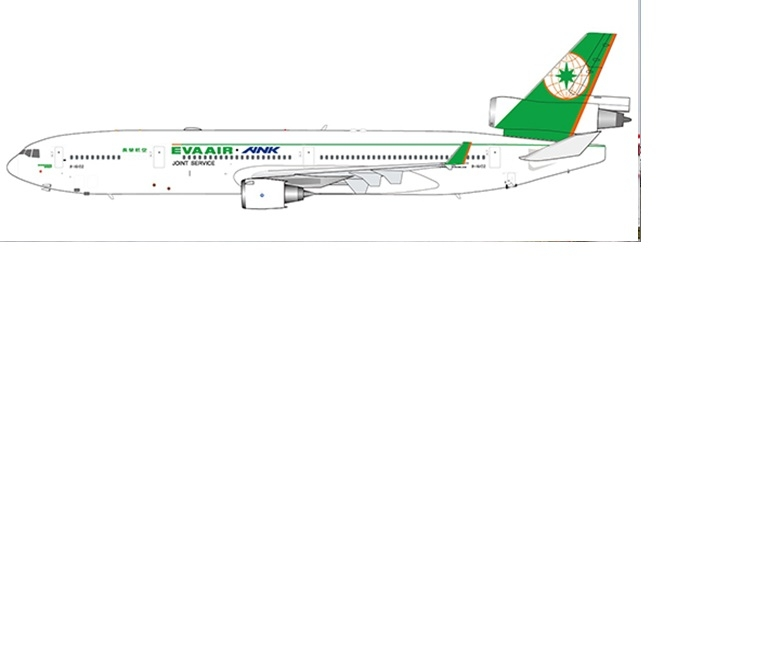 1:400 Eva Air MD-11 (Pre-Or ...